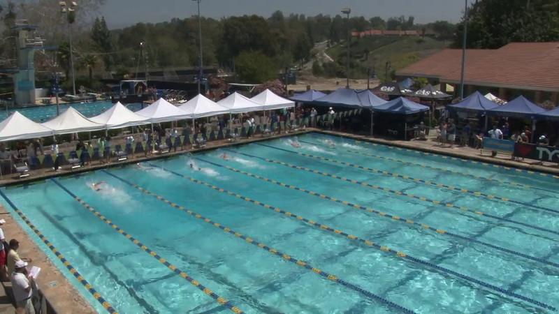 Men's 50 Freestyle Heat 08 - 2012 Mission Viejo Swim Meet of Champions