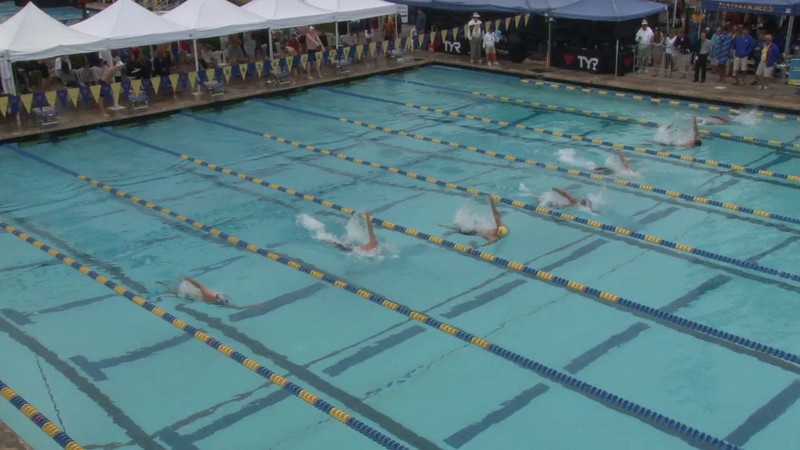 Men's 100 Backstroke Heat 02 - 2012 Mission Viejo Swim Meet of Champions