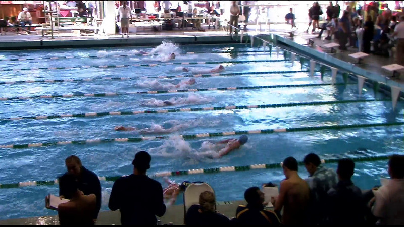 Men's 200yd Medley Heat 1 - 2012 Southern California Swimming Junior Olympics