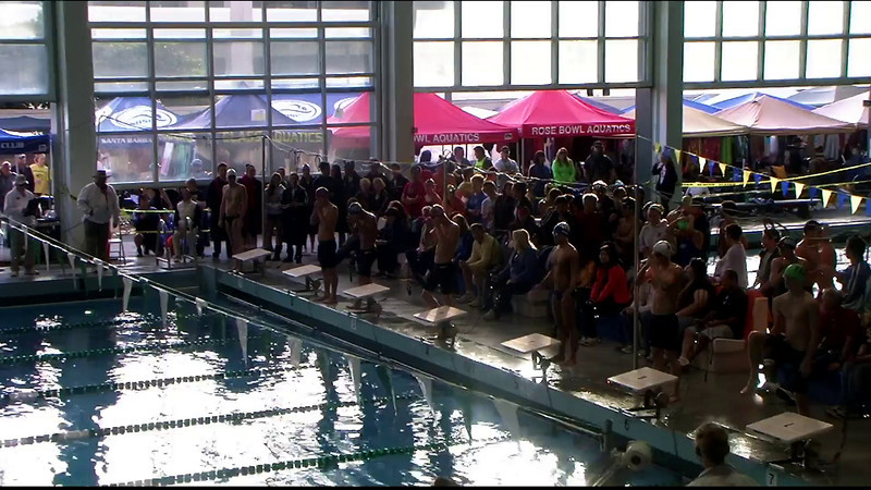 Men's 100yd Backstroke Final A - 2012 Southern California Swimming Junior Olympics
