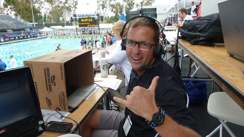 Mike Lewis Announcing at the 2013 U.S. Open Irvine, CA