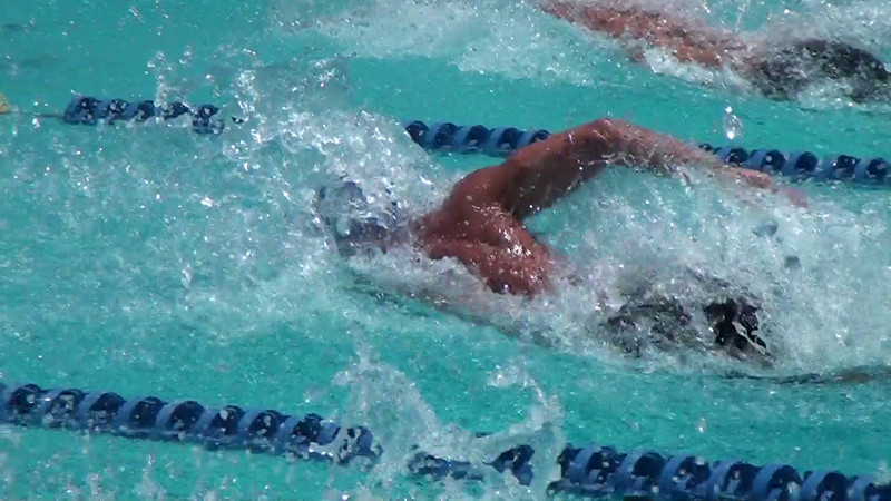 2012 Nathan Adrian Breaks 50m Freestyle Record at the TYR Fran Crippen Memorial Swim Meet of Champions - 4/21/2012