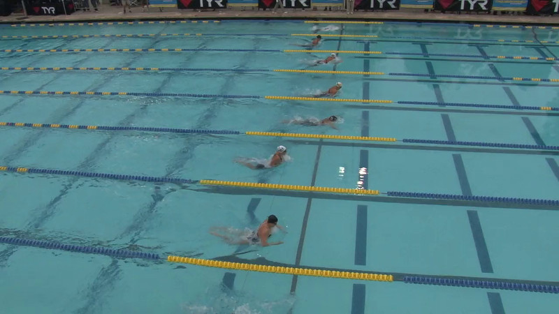 Women's 100 Butterfly Final A - 2012 Mission Viejo Swim Meet of Champions