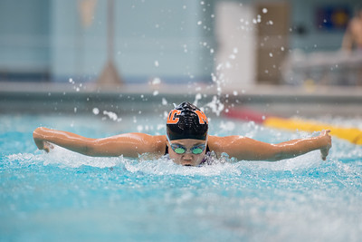 2017 - Macalester Swimming at MIAC Conference Meet   -- Copyright Christopher Mitchell / SportShotPhoto.com
