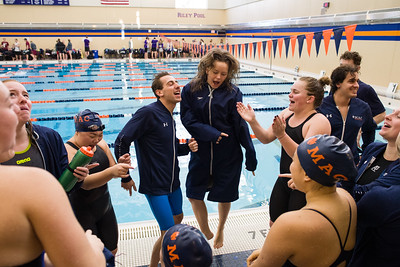 2019 - Macalester College hosts Roger Ahlman Swimming Meet