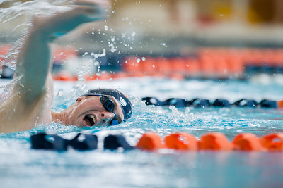 2021 Macalester Swimming hosts intrasquad meet