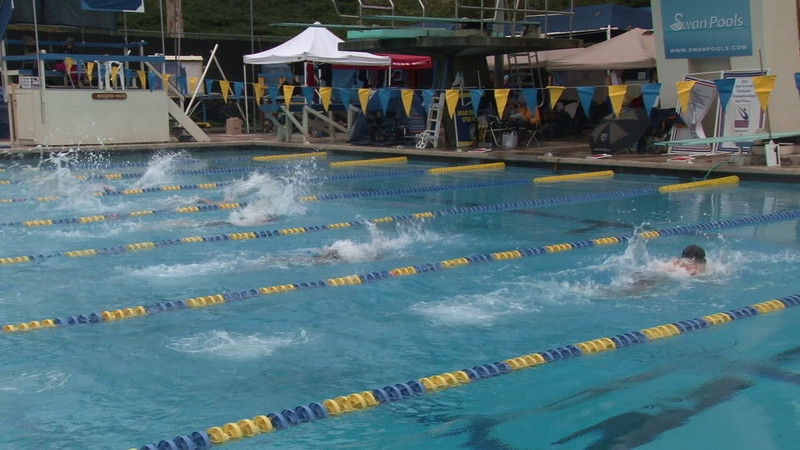 11tl16 E07 H03 Mixed 100 M Fly Shiomoto, Dannielle Morales, Henry Behun, Bill Granados, James Mc Ginley, Patrick Castleton, Tom Clark, Michael