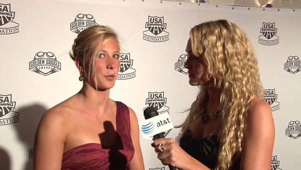 Ashley Twitchell Red Carpet Interview | 2011 Golden Goggle Awards