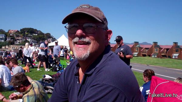 Chuck L  Talks 2011 Tiburon Mile