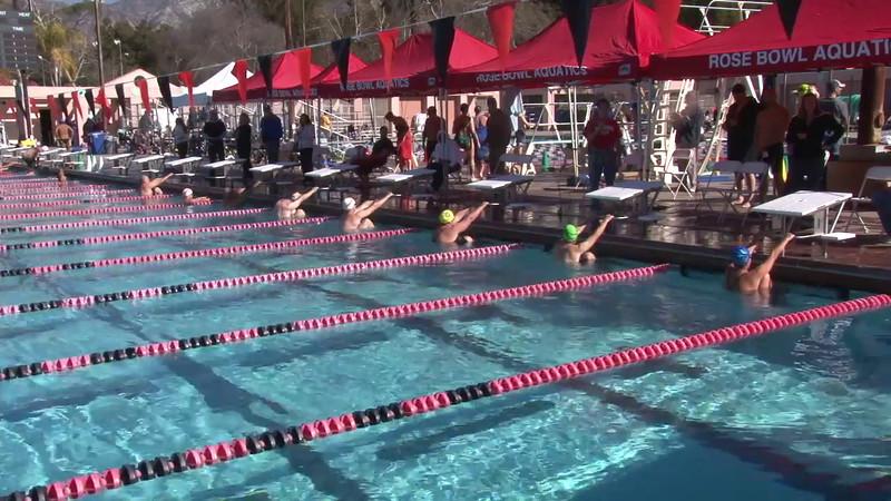 3 Mixed 200 Y Back Heat 4 - 2012 Rose Bowl Aquatic Master Swim Meet SCY