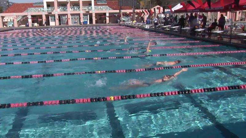 3 Mixed 200 Y Back Heat 5 - 2012 Rose Bowl Aquatic Master Swim Meet SCY