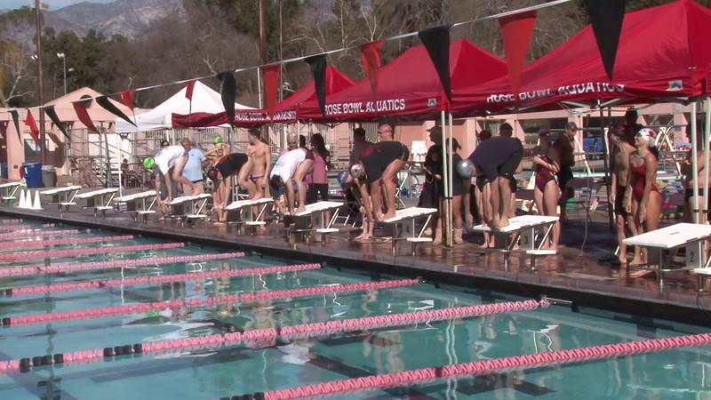 Event 10 Mixed T-Shirt 200yd Free Relay - Rose Bowl Aquatic Masters Swim Meet