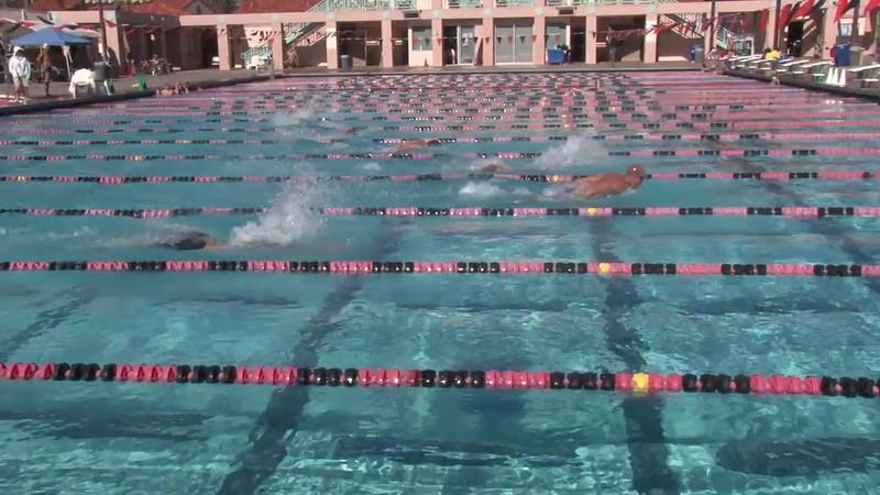 6 Mixed 200 Y Fly Heat 3 - 2012 Rose Bowl Aquatic Master Swim Meet SCY