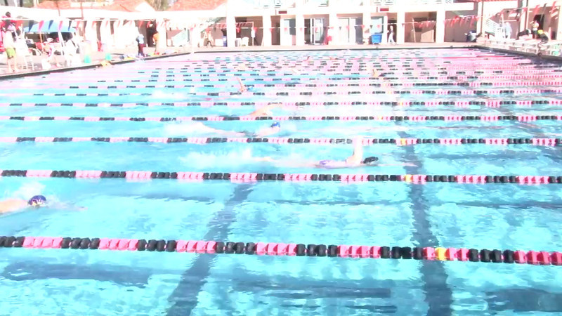 1 Mixed 500 Y Free Heat 4 - 2012 Rose Bowl Aquatic Master Swim Meet SCY