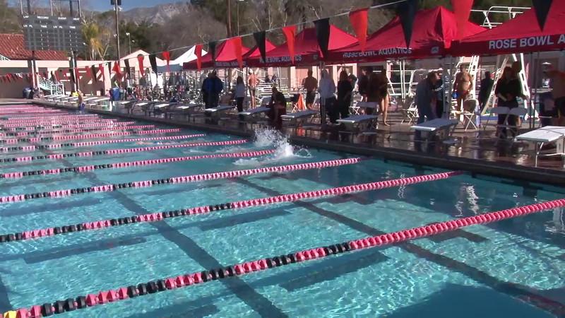 3 Mixed 200 Y Back Heat 1 - 2012 Rose Bowl Aquatic Master Swim Meet SCY