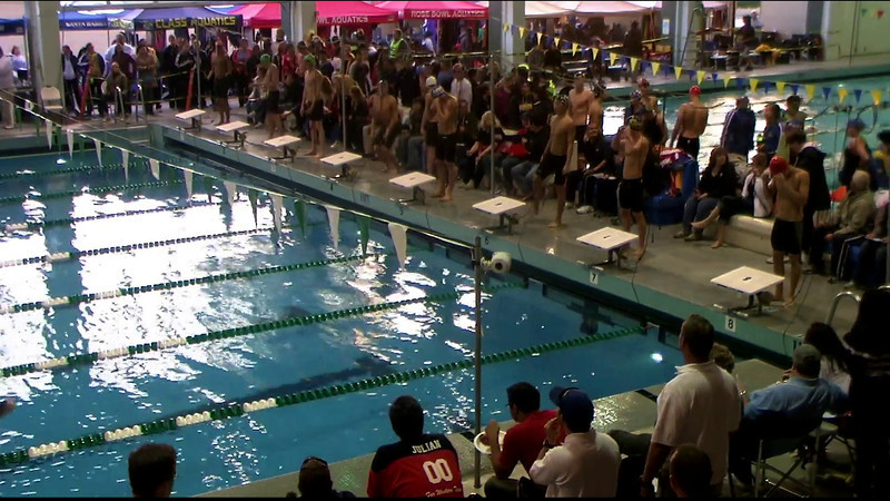 Men's 100yd Freestyle Final B - 2012 Southern California Swimming Junior Olympics
