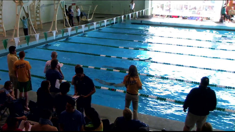 Men's 100yd Butterfly Heat 7 - 2012 Southern California Swimming Junior Olympics