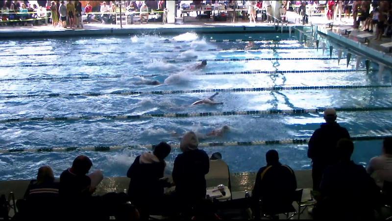 Men's 100yd Breaststroke Heat 11 - 2012 Southern California Swimming Junior Olympics