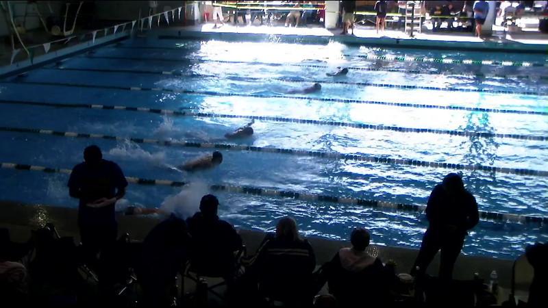 Men's 400yd Medley Heat 08 - 2012 Southern California Swimming Junior Olympics