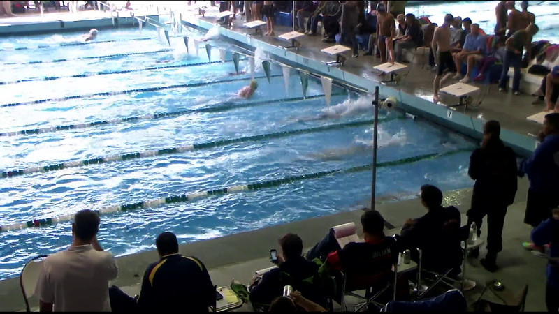 Men's 200yd Breaststroke Heat 01 - 2012 Southern California Swimming Junior Olympics