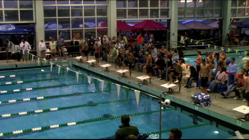 Men's 400yd Medley Final A - 2012 Southern California Swimming Junior Olympics