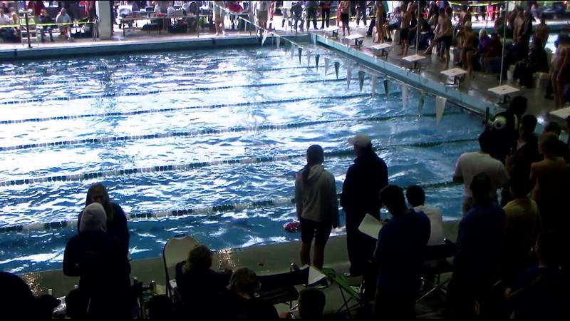Men's 100yd Breaststroke Heat 14 - 2012 Southern California Swimming Junior Olympics