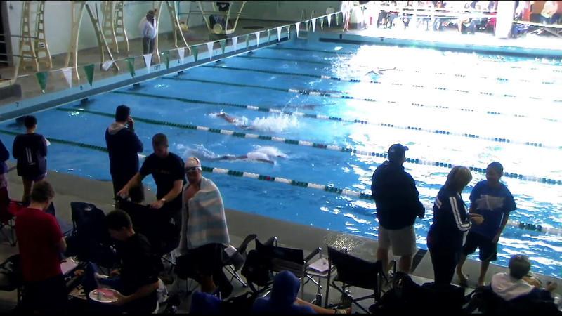 Men's 400yd Medley Heat 09 - 2012 Southern California Swimming Junior Olympics