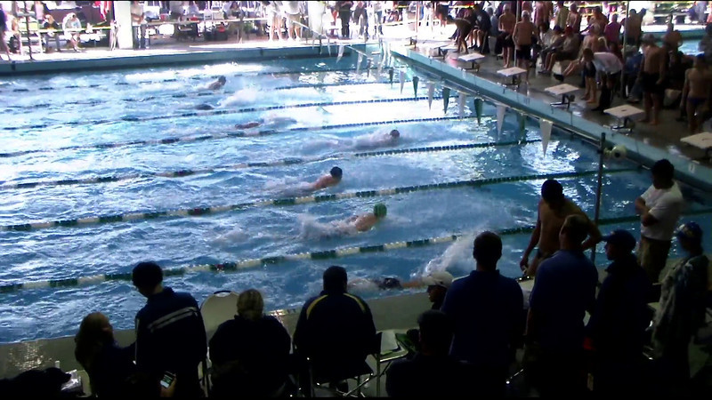 Men's 100yd Breaststroke Heat 08 - 2012 Southern California Swimming Junior Olympics