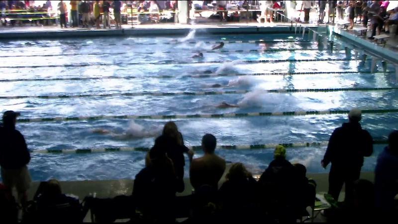 Women's 100yd Breaststroke Heat 12 - 2012 Southern California Swimming Junior Olympics