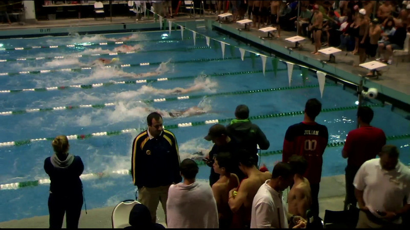 Men's 400yd Freestyle Relay Heat 05 - 2012 Southern California Swimming Junior Olympics