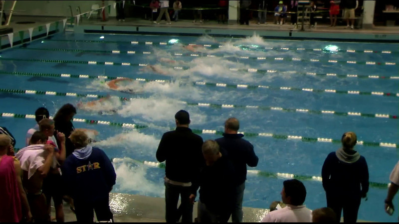 Men's 400yd Freestyle Relay Heat 08 - 2012 Southern California Swimming Junior Olympics