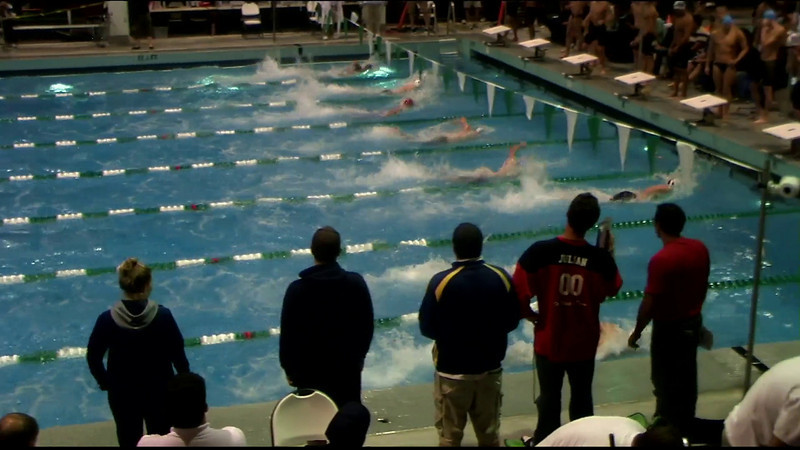 Men's 400yd Freestyle Relay Heat 06 - 2012 Southern California Swimming Junior Olympics