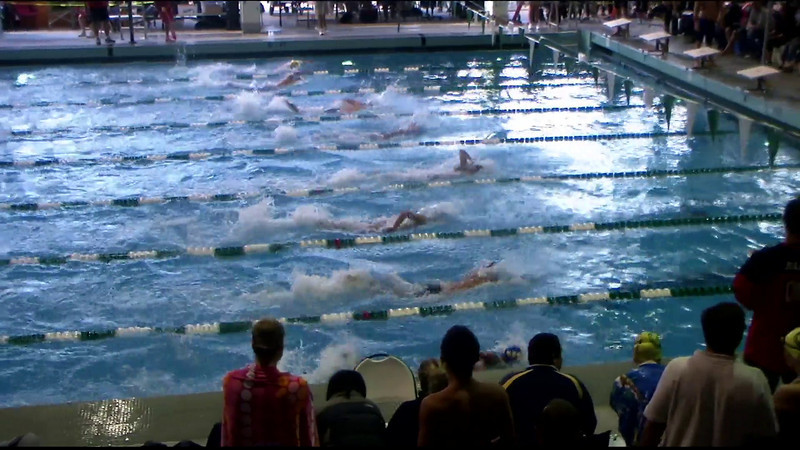 Men's 100yd Freestyle Heat 04 - 2012 Southern California Swimming Junior Olympics