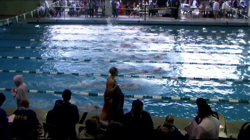 Women's 100yd freestyle Heat 04 - 2012 Southern California Swimming Junior Olympics