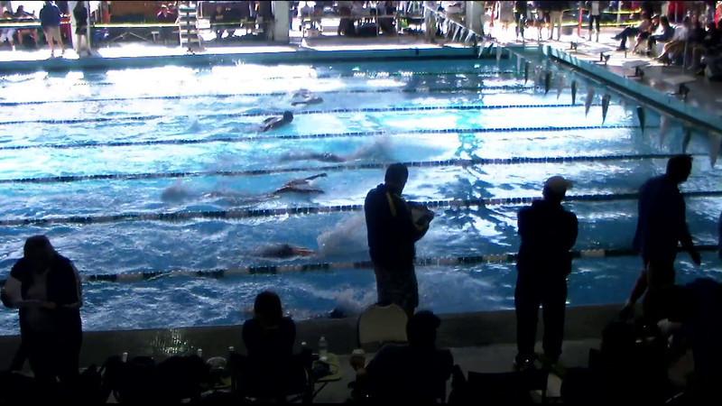 Men's 400yd Medley Heat 11 - 2012 Southern California Swimming Junior Olympics
