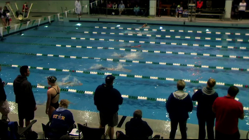 Women's 200yd Butterfly Final B - 2012 Southern California Swimming Junior Olympics