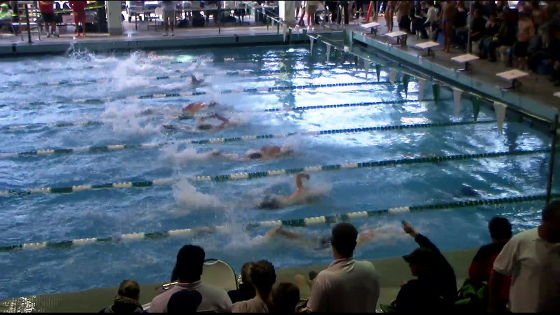 Men's 100yd Freestyle Heat 02 - 2012 Southern California Swimming Junior Olympics