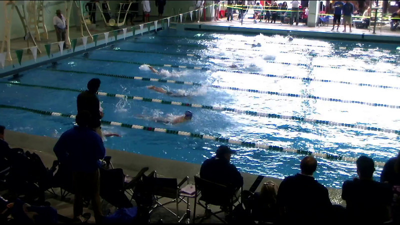 Women's 400yd Medley Heat 07 - 2012 Southern California Swimming Junior Olympics
