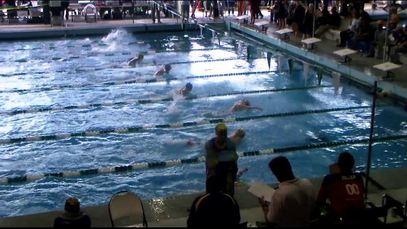 Women's 200yd Breaststroke Heat 07 - 2012 Southern California Swimming Junior Olympics
