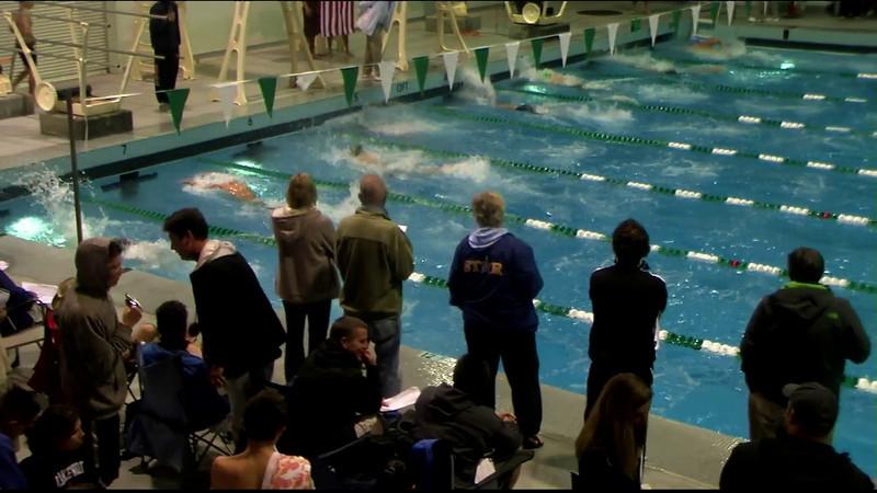 Men's 200yd Breaststroke Final B - 2012 Southern California Swimming Junior Olympics