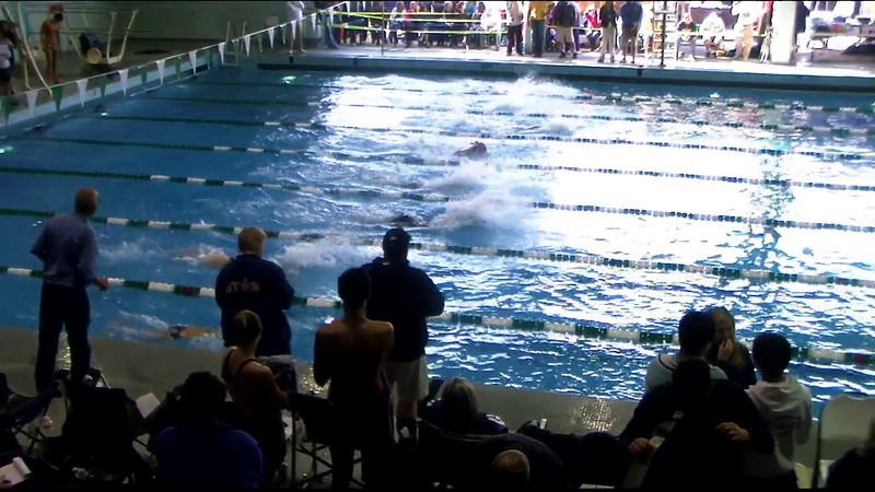 Women's 100yd Breaststroke Heat 09 - 2012 Southern California Swimming Junior Olympics
