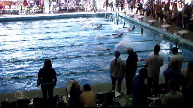 Men's 100yd Breaststroke Heat 15 - 2012 Southern California Swimming Junior Olympics
