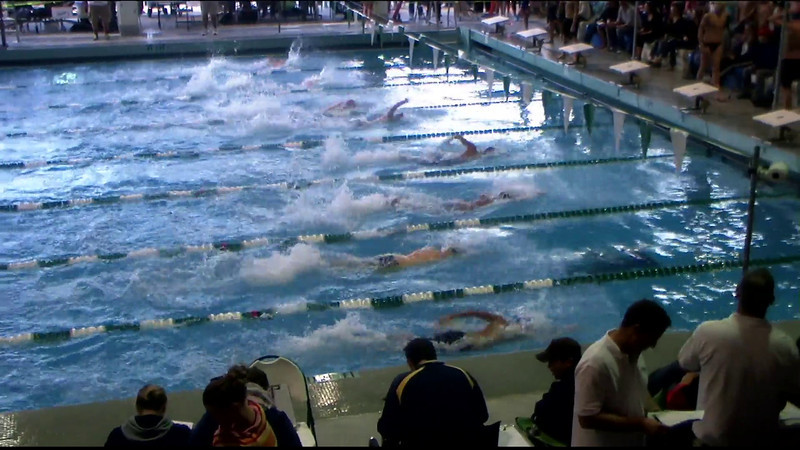 Men's 100yd Freestyle Heat 07 - 2012 Southern California Swimming Junior Olympics