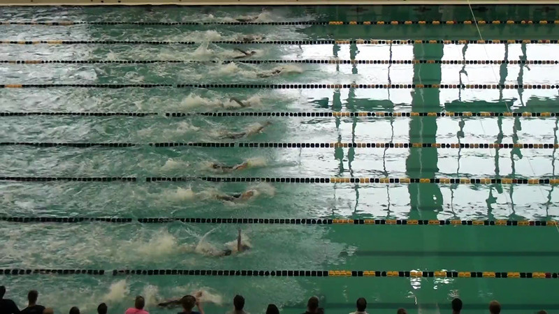 Women's 50 Backstroke Heat Final A - 2012 YMCA LC National Championships