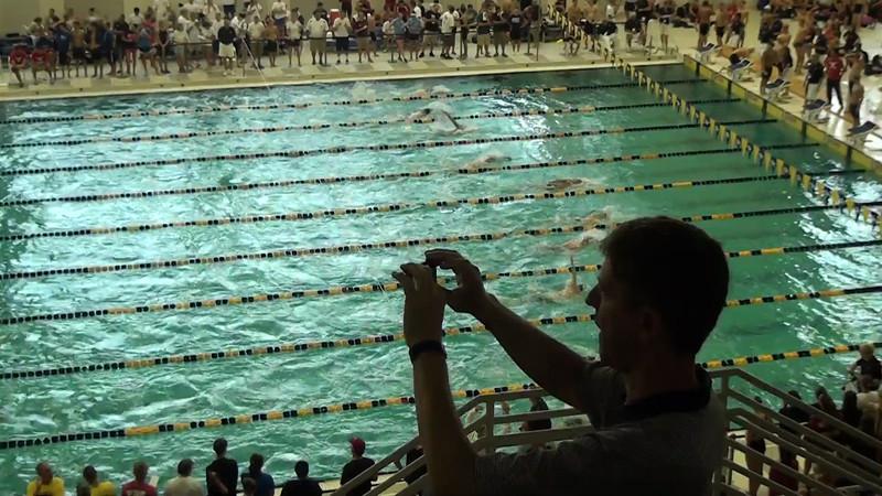 Men's 200 Backstroke Heat 10 - 2012 YMCA LC National Championships