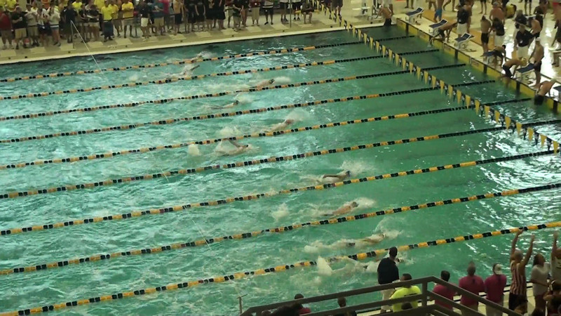 Men's 100m Butterfly Heat 10 - 2012 YMCA LC National Championships