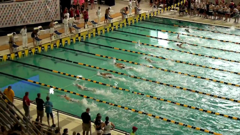 Men's 800 Freestyle Heat Final A - 2012 YMCA LC National Championships