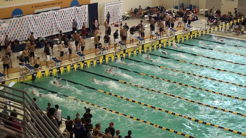 Men's 100 Freestyle Heat 17 - 2012 YMCA LC National Championships