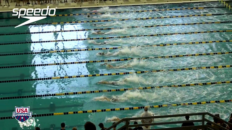 Women's 100 Freestyle Heat Final B - 2012 YMCA LC National Championships
