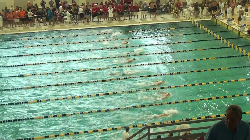 Men's 200 Breaststroke Heat 08 - 2012 YMCA LC National Championships